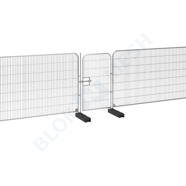 1m Temporary Fencing Pedestrian Gate with Latchpole