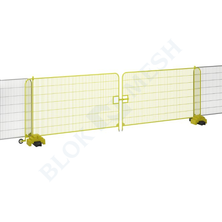 7m Temporary Fencing Sliding Vehicle Gate
