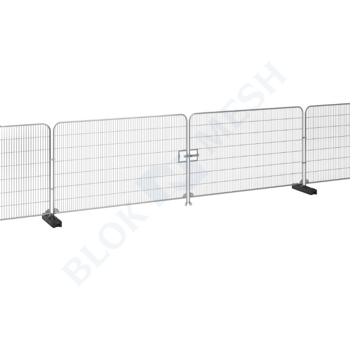 7m Temporary Fencing Vehicle Gate