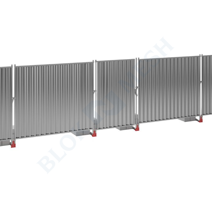 Blockade™ On-Ground Steel Pedestrian Door - 2m