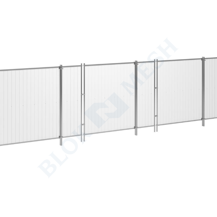 Blockade™ UPVC In-Ground Hoarding System - 2m