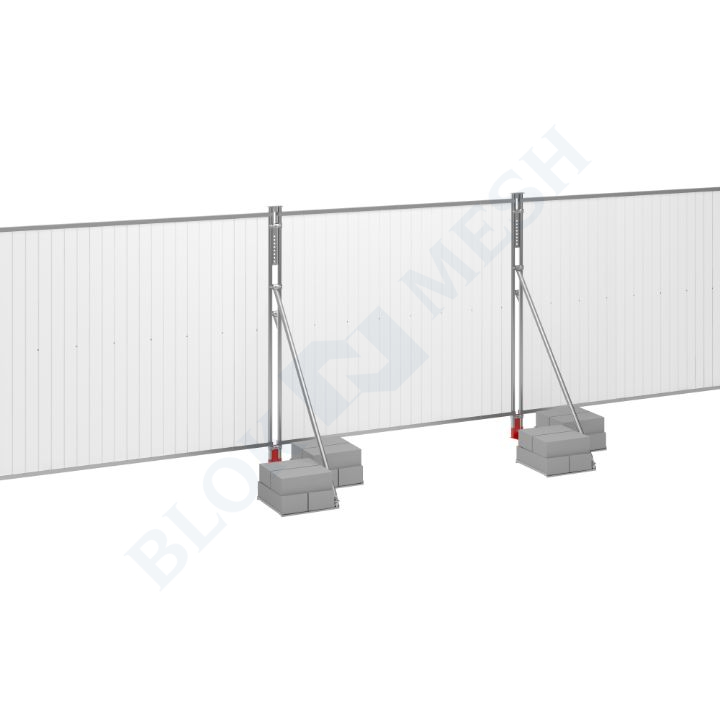 Blockade™ UPVC On-Ground Hoarding System - 2m