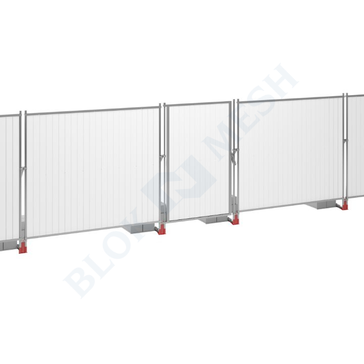 Blockade™ UPVC On-Ground Pedestrian Door - 2m