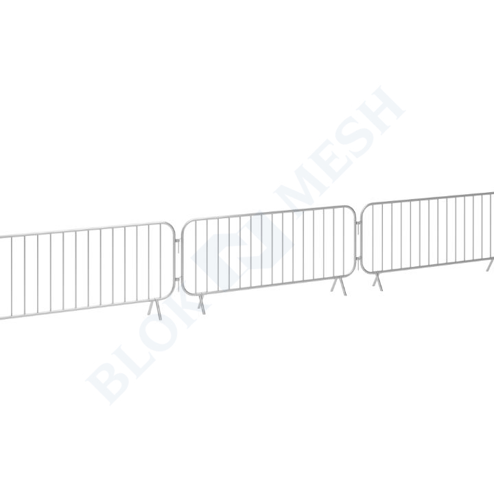 Crowd Control Bar Barrier - Heavy Duty