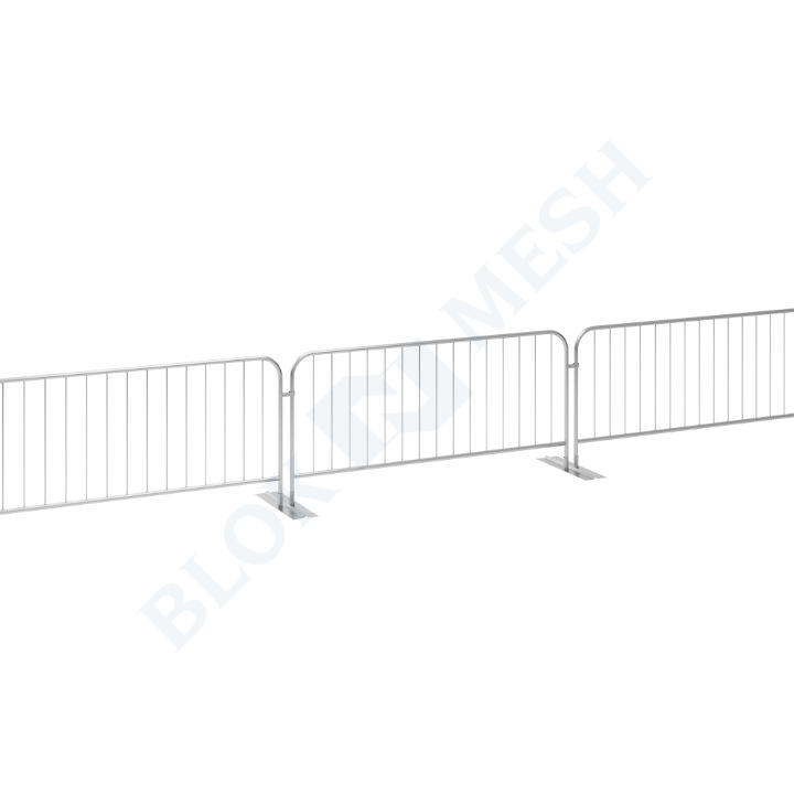 Crowd Control Hawk Barrier with Double Metal Foot