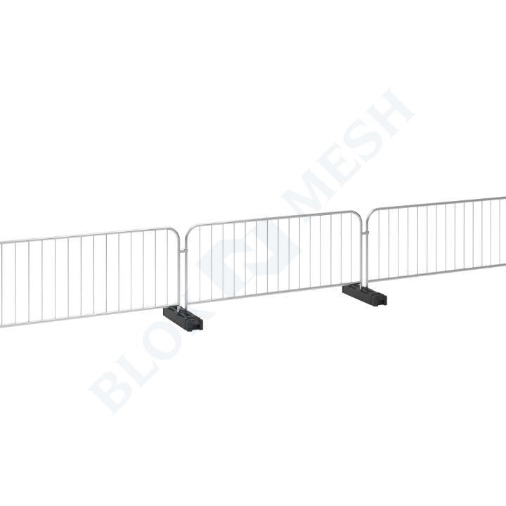 Crowd Control Hawk Barrier with Fence Feet