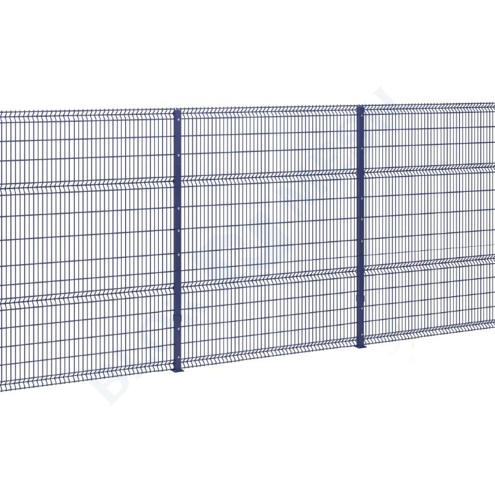 Defender V Mesh Fencing Bolted In-Ground - 3m
