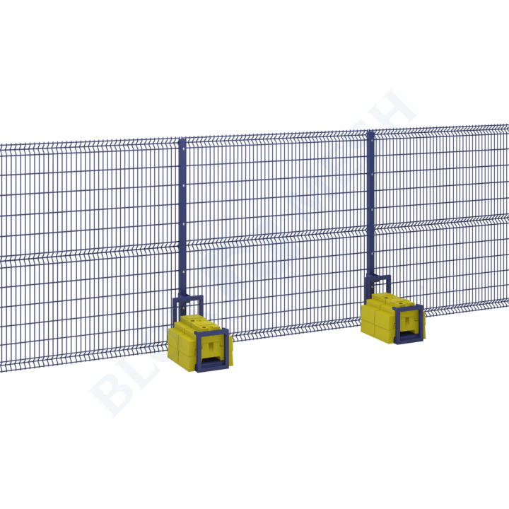 Defender V Mesh Temporary Fencing with BraceBlok™ - 2.4m