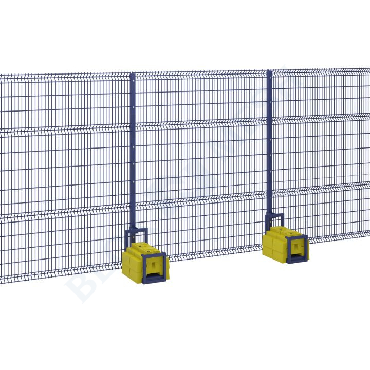 Defender V Mesh Temporary Fencing with BraceBlok™ - 3m