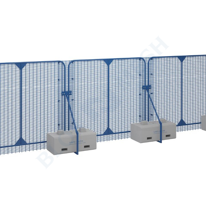 POLMIL® High Security hekwerk met SafeBlok ™ - 2,4m