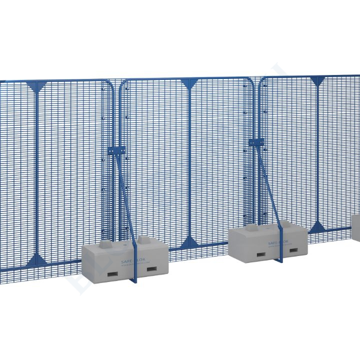POLMIL® Base Level Security Fence with SafeBlok™ - 3m