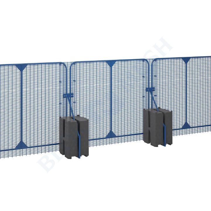 POLMIL® High Security hekwerk met WaterBlok ™ - 2,4m