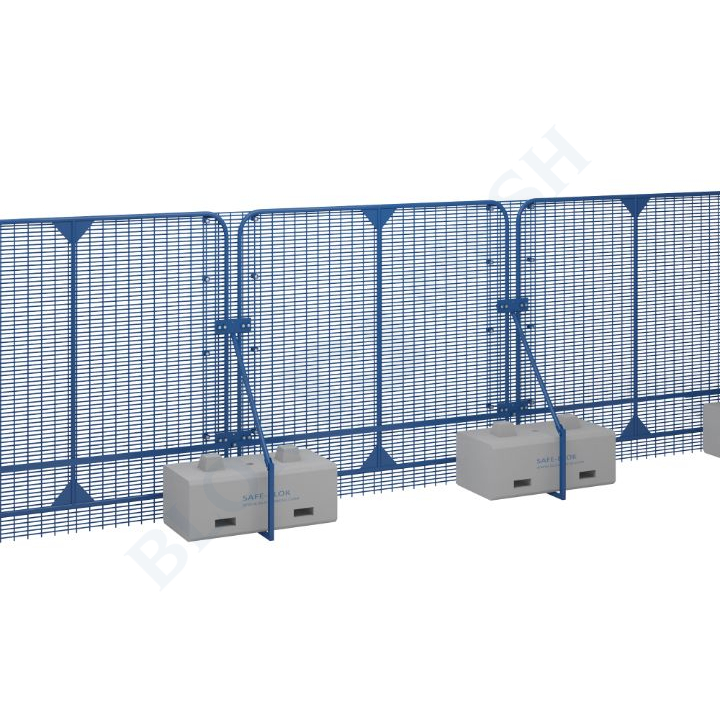 POLMIL® High Security hekwerk HVM PAS86 - 2,4m
