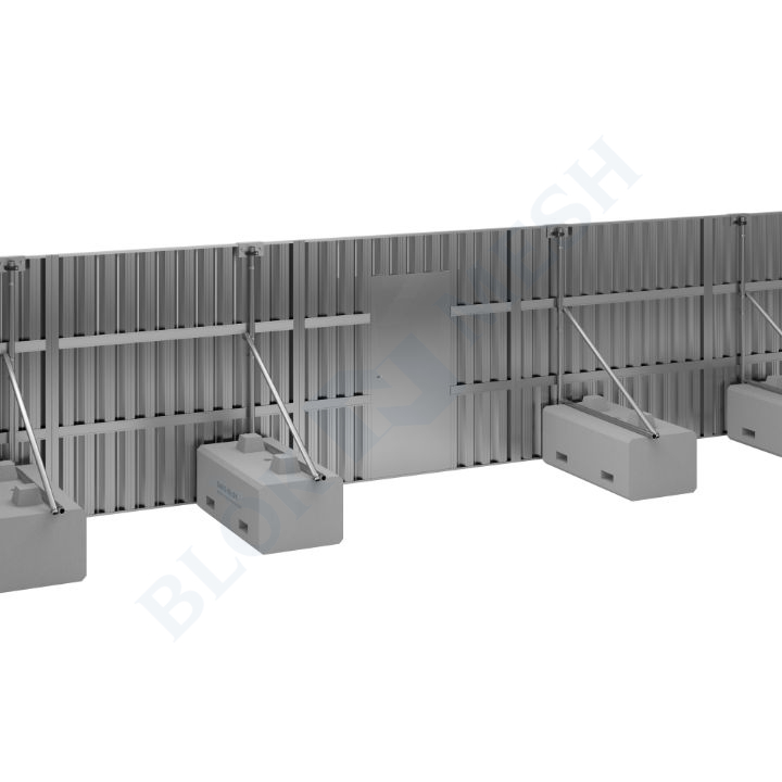 Safe Hoard™ Steel On-Ground Pedestrian Door - 2.4m