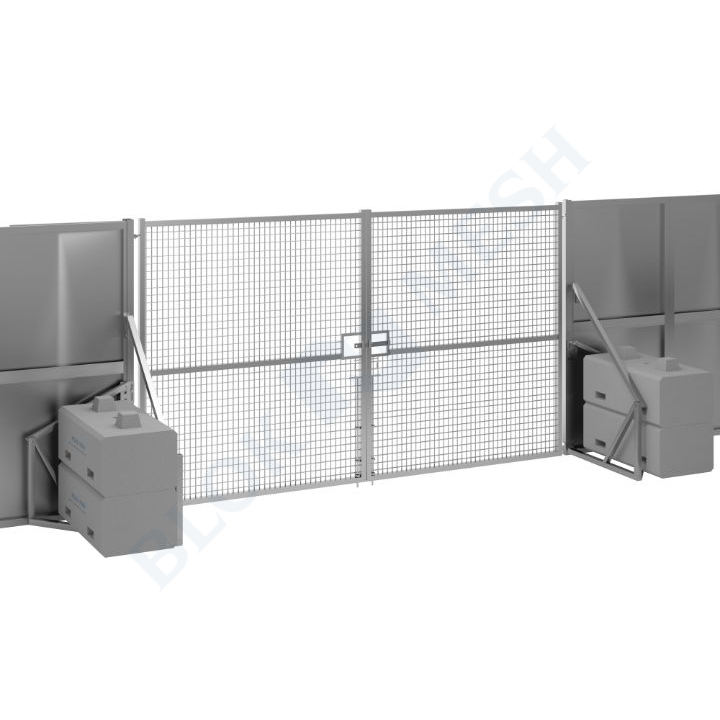 Secure Hoard™ Steel Full Mesh Vehicle Gate - 2.4m