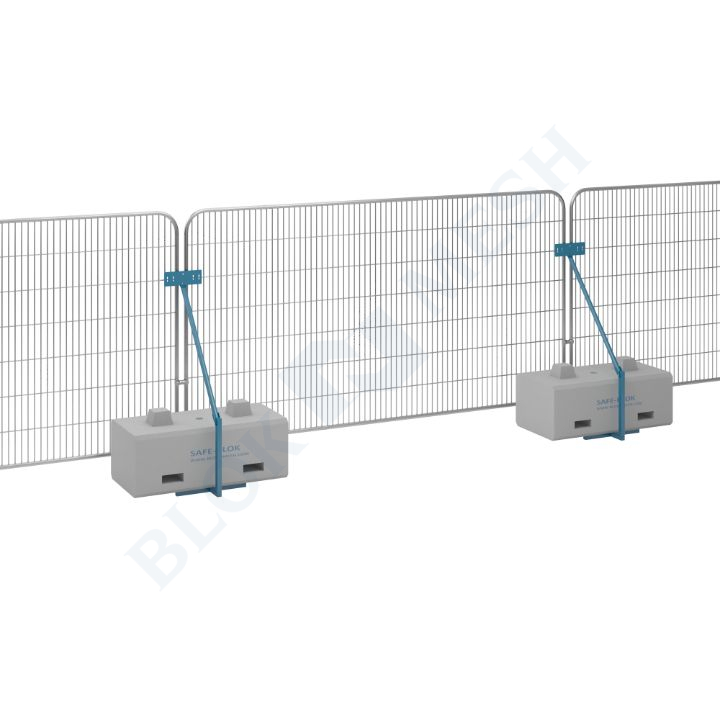 Temporary Fencing Set with SafeBlok™