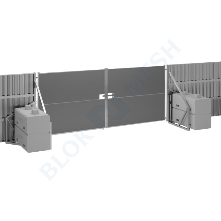 Safe Hoard™ Steel Full Clad Vehicle Gate - 2.4m
